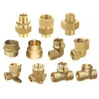 Air pressure brake fittings